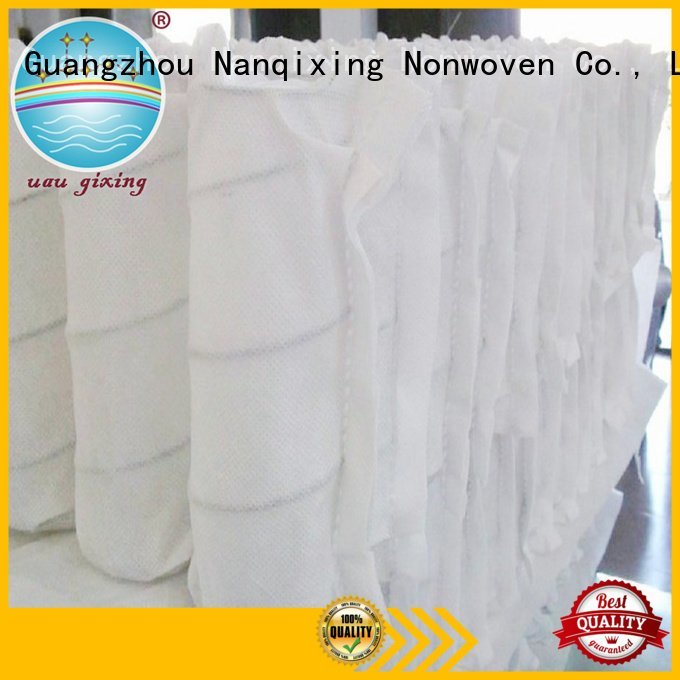 Nanqixing Brand spunbonded high furnishings pp spunbond nonwoven fabric