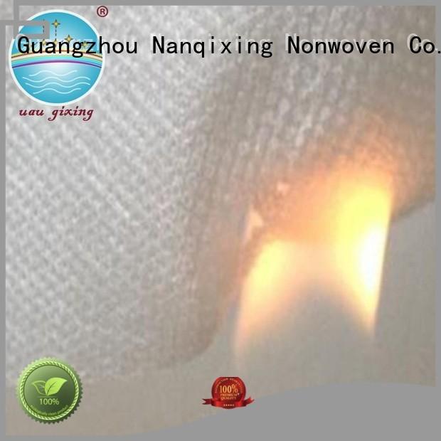 upholstery nonwoven furnishings Nanqixing Brand pp spunbond nonwoven fabric