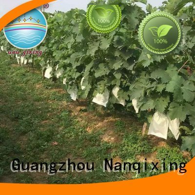 Hot best price weed control fabric making friuts cover Nanqixing Brand