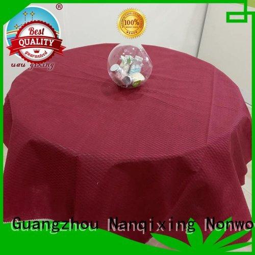 Nanqixing tnt non woven tablecloth sizes cloth