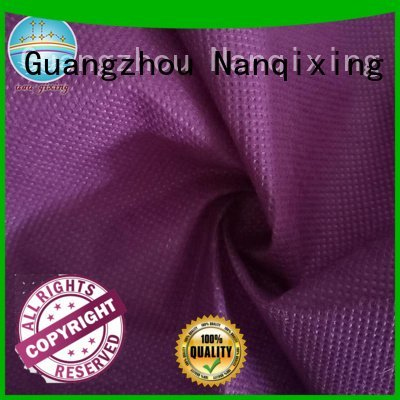 Custom Non Woven Material Suppliers virgin high usages Nanqixing