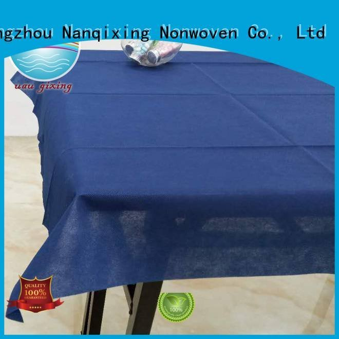 non woven fabric for sale restaurants non woven tablecloth Nanqixing Brand