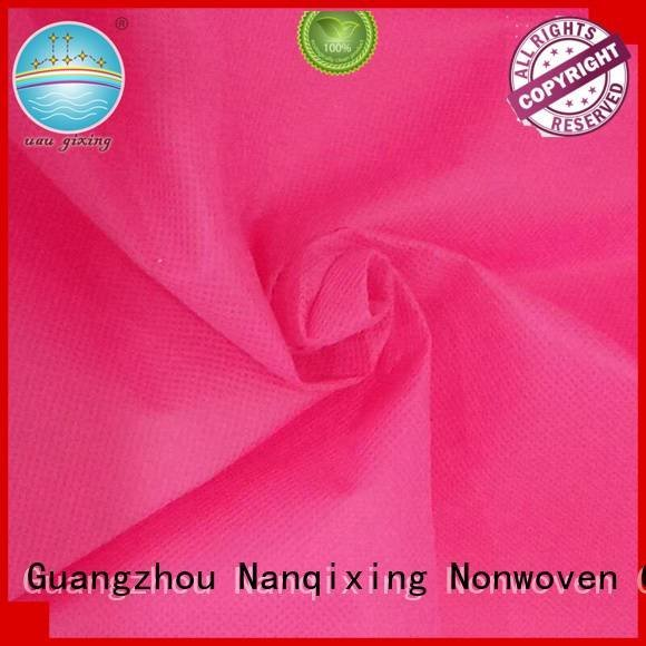 Non Woven Material Wholesale good designs pp textile Nanqixing