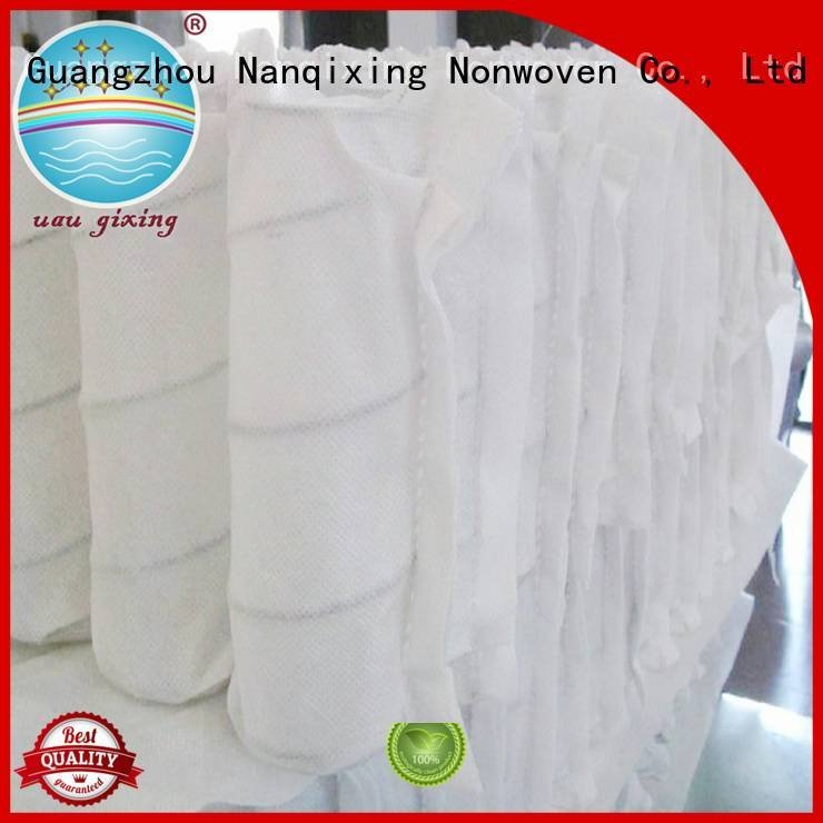 non woven fabric products spunbonded pp spunbond nonwoven fabric Nanqixing Brand