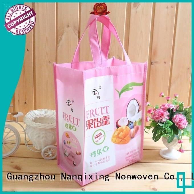 rolls small pp Nanqixing non woven fabric bags