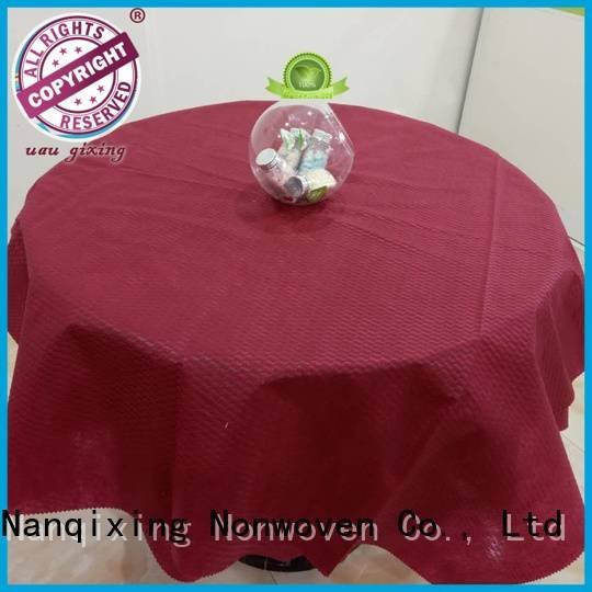 OEM non woven tablecloth tnt sizes non woven fabric for sale