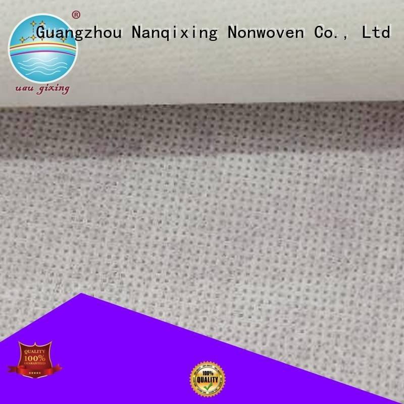 Non Woven Material Wholesale textile soft woven Nanqixing
