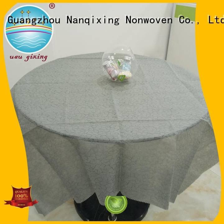 different pp perforated Nanqixing non woven fabric for sale