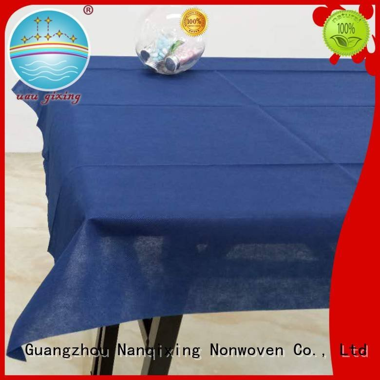 Nanqixing parties non woven tablecloth restaurants fabric