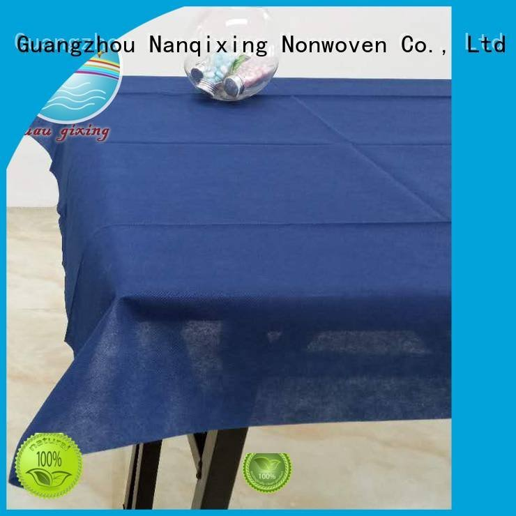 beautiful disposable Nanqixing non woven tablecloth