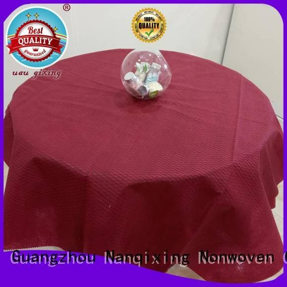 non woven fabric for sale different fabric non woven tablecloth Nanqixing Warranty