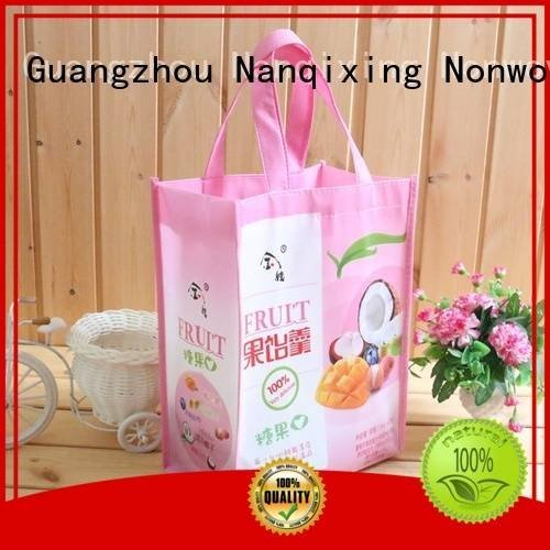 for non woven fabric bags Nanqixing laminated non woven fabric manufacturer