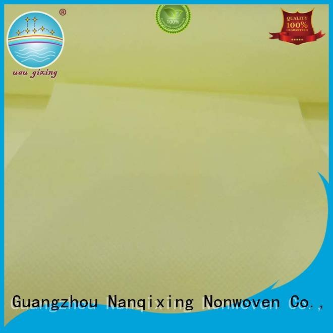 Nanqixing ecofriendly Non Woven Material Suppliers non usages