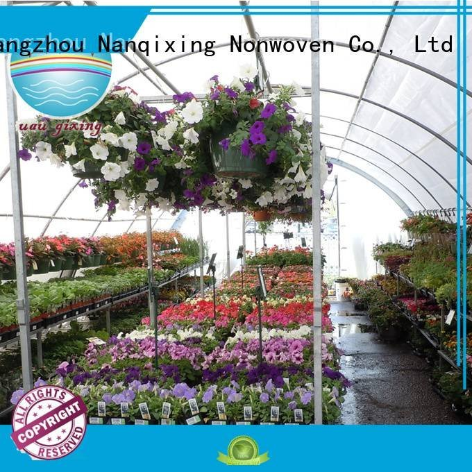 Nanqixing Brand nonwoven greenhouse black best price weed control fabric