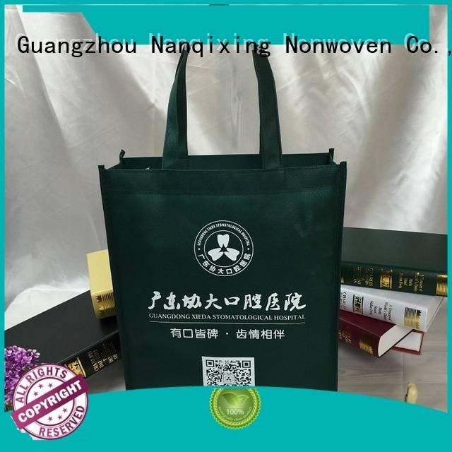 Wholesale with fabrics non woven fabric bags Nanqixing Brand