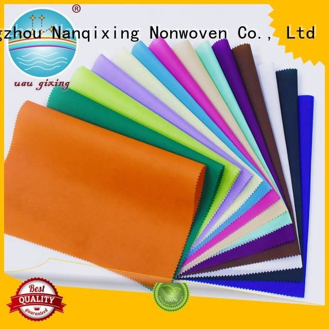 Nanqixing fabric soft Non Woven Material Suppliers good designs