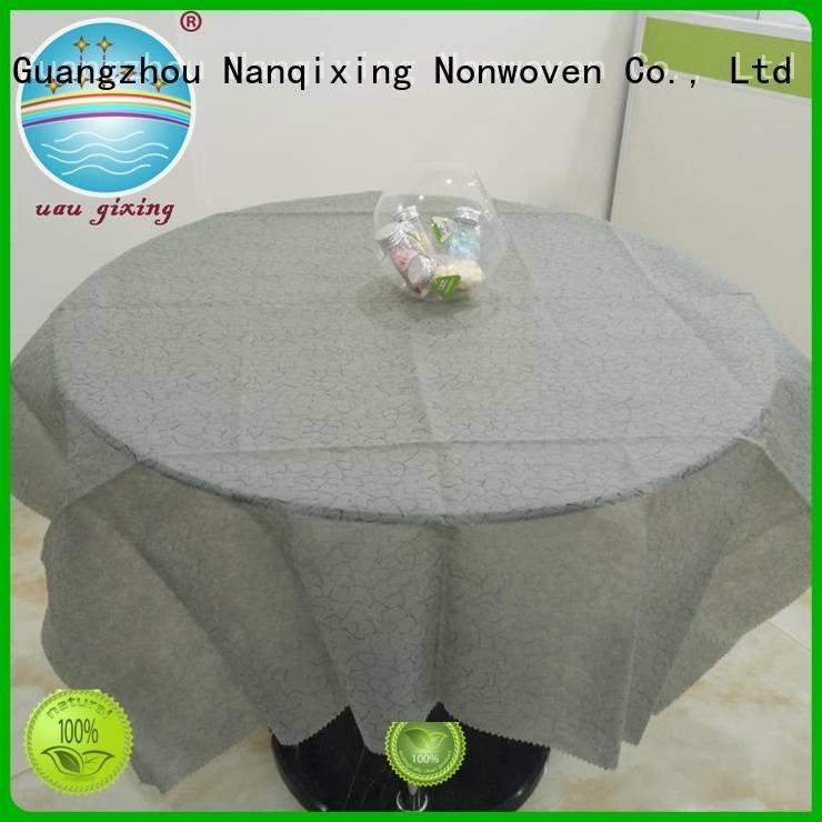 non woven fabric for sale fabric pp non woven tablecloth Nanqixing Brand