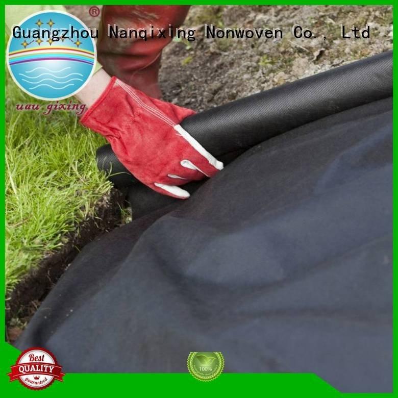 Nanqixing best weed control fabric mat nonwoven making ecofriendly